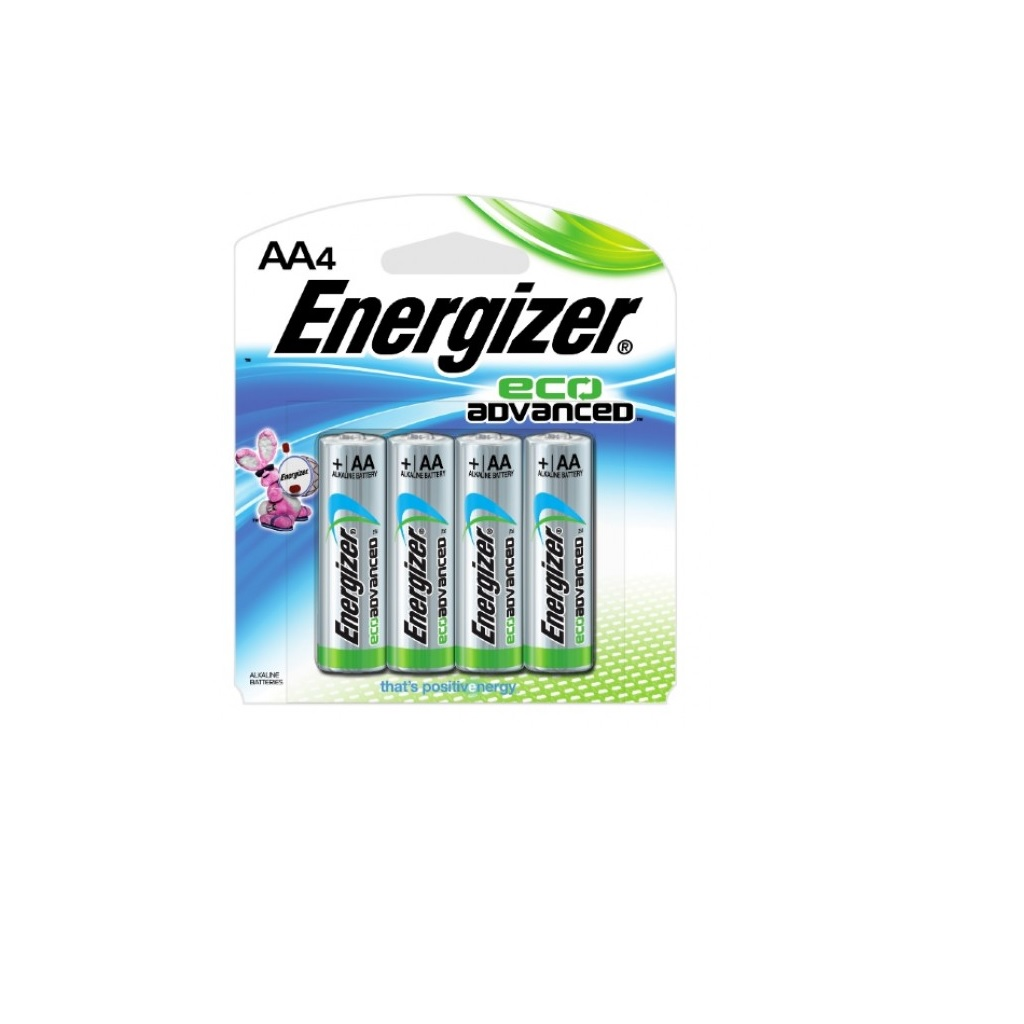 PILA ENERGIZER ALCALINA ECO-ADVANCE AA C/4 BP4 XR91BP-4MX
