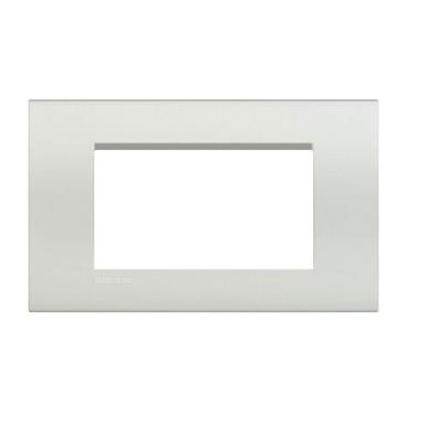 PLACA RECTANGULAR COLOR BLANCO 4 MÓD.